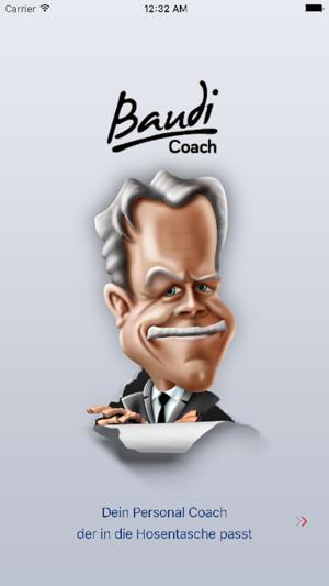 Baudi Coach App Screenshot